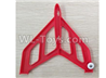 Wltoys F500.0003 Left Verticall Tail Wing Set-Red