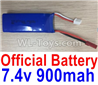 Wltoys F500.0013 Battery 7.4V 900mah Battery(1pcs)