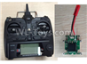 Wltoys F500.0014-01 X8 Big Version Transmitter and Circuit board Together