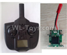 Wltoys F500.0015-01 X4 Small Version Transmitter and Circuit board together