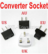 Wltoys F500.0016-03 Standard Adapter Universal Converter Socket(You can choose AU,US,EU,UK Version)