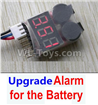 Wltoys F500.0016-04 Upgrade Alarm for the Battery,Can test whether your battery has enouth power