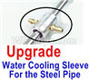 Feilun FT011 Upgrade Water Cooling sleeve for the Steel Pipe-You must buy the Upgrades-Extended Stainless Steel Pipe together to use for your boat,feilun ft011 mods Parts,feilun ft011 tuning Parts