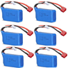 WL915 Boat Parts-46-03 11.1v 1200mah Battery(6pcs) ,Wltoys WL915 RC Boat spare parts,WL915 Brushless motor RC Racing boat Accessories