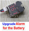 DHK Crosse Parts-Upgrade Alarm for the Battery,Can test whether your battery has enouth power Parts,DHK Crosse 8136 RC Car Parts,DHK Hobby Crosse 8136 Parts