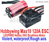 JLB Cheetah 120A ESC(Hobbywing Max 10 120A ESC) and LEOPARD Hobby 3663 Brushless Motor(Violent,waterproof,Rough axis) Parts,JLB Cheetah Parts,JLB cheetah 1/10 21101 RC Car Parts,JLB Racing Cheetah parts,JLB Racing 21101 parts