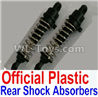Wltoys 10402 10402.0857 10428-2.0341 Plastic Rear Shock Absorbers(2pcs)