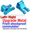 Wltoys 10428-C2 Upgrade Metal Front shockproof commutator(Left and Right)-Blue
