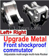 Wltoys 10428-C2 Upgrade Metal Front shockproof commutator(Left and Right)-Silver