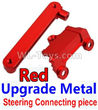 Wltoys 10428-C2 K949-15 Upgrade Metal Steering connecting piece-Red