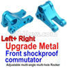 Wltoys 10428-B Upgrade Metal Front shockproof commutator(Left and Right)-Blue