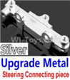 Wltoys 10428-B Upgrade Metal Steering connecting piece-Silver