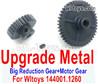 Wltoys 124016 Upgrade Metal Steel Motor Gear + Reduction gear.