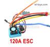 Wltoys 124016 Upgrade ESC Board. 120A current.