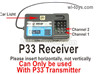 Wltoys 124016 Upgrade P33 Receiver board, Control Board.