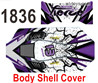 Wltoys 124019 Body shell cover. 124019.1836