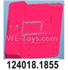 Wltoys 124018 Cab rear seat group. 124018.1855.