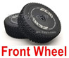 Wltoys 124018 Front Wheel Tires Unit, 124018.1841.