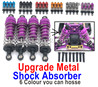Wltoys 124019 Shock Absorber. 4pcs. 124019.1316. 5 Colors you can choose.