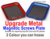 Wltoys 124018 Parts-Upgrade Metal Magnetic Screws Plate. It is suit for Repairing the RC Cars,RC helicopter,RC Toys. Etc.