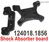 Wltoys 124018 Shock absorber board.  124018.1856