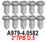 Wltoys 124018 Screws A979-4.0582 Screws. 2x7PB D.5.