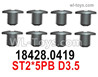 Wltoys 124019 Screws 18428.0419 Screws. ST2x5PB D3.5.