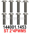 Wltoys 124019 Screws 124019.1453 Screws. ST2x4PWM5.