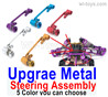 Wltoys 124019 Upgrae Metal Steering Assembly. 5 Color you can choose.