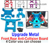Wltoys 124018 Upgrade Metal Front and rear anti-collision group.124018.1840