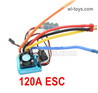 Wltoys 124018 Upgrade ESC Board. 120A current.