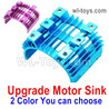 Wltoys 124018 Upgrade Motor Heat Sink. Two colors you can choose.
