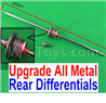 Wltoys 12423 Car Spare Parts-00133-03 Upgrade All Metal Rear Differentials Assembly
