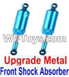 Wltoys 12423 Car Spare Parts-0016-02 Upgrade Front Metal Shock Absorber(2pcs)