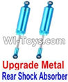 Wltoys 12423 Car Spare Parts-0017-02 Upgrade Metal Rear Shock Absorber(2pcs)