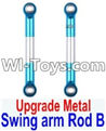 Wltoys 12423 Car Spare Parts-0021-02 Upgrade Metal Swing arm Rod B(2pcs)