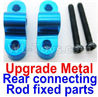 Wltoys 12428-B.0039-02 Upgrade Metal Rear connecting rod fixed parts(2pcs)