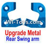 Wltoys 12423 Car Spare Parts-0042-02 Upgrade Metal Positioning piece for the Left and Right Rear Swing arm(2pcs)