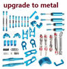 Wltoys 12428 Upgrade All Metal parts assembly,Crash set-01