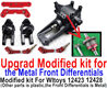 Wltoys 12428 Upgrade Modified kit for the Metal Front Differentials-Option 1(Front Differentials assembly is Metal,other parts is plastic