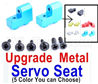 Wltoys 12428 Upgrae Metal Servo Seat Parts,,Can be used for Wltoys 12429 12428-B 12428-C 12428-A