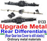 Wltoys 12428 Upgrade Metal Rear Differentials-Upgrade For the 12428-0133-Ordinary metal materials)
