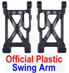 Wltoys 12428 Swing Arm Parts(2pcs)-Official Plastic(Left + Right) Parts, 12428-0004