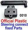 Wltoys 12428 Steering connect rod & Positioning seat Parts, 12428-0010