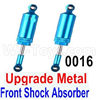 Wltoys 12428 Upgrade Front Metal Shock Absorber(2pcs) Parts, 12428-0016,Wltoys 12428 Upgrade Parts