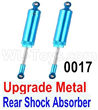 Wltoys 12428 Upgrade Metal Rear Shock Absorber(2pcs) Parts, 12428-0017,Wltoys 12428 Upgrade Parts