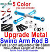 Wltoys 12428 Upgrade Metal Swing arm Rod B(2pcs) Parts, 12428-0021