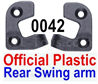 Wltoys 12428 Positioning piece for the Rear Swing arm,Total 2pcs)-Official Plastic, 12428-0042