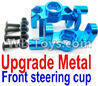 Wltoys 12429 Upgade Metal Front steering cup,Left and Right Universal joint(2pcs) Parts