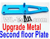 Wltoys 12429 Upgrade Metal Upper Plate,Second floor Plate Parts
